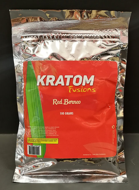 WS of Kratom Fusions : Red Borneo - 100 Grams