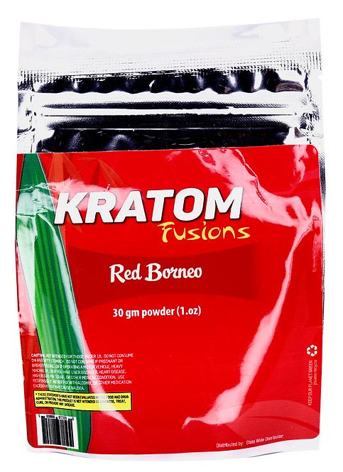 Kratom Fusions : Red Borneo - 30g