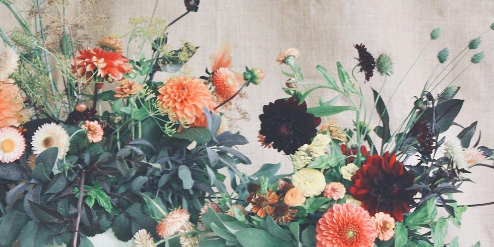 Floral Pumpkin Masterclass £65