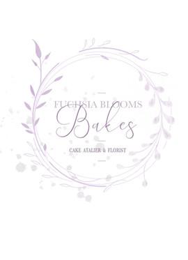 Fuchsia Blooms Bakes pink Logo Roundal 3