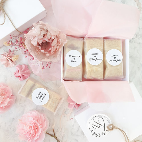 Wedding Cake Tasting Boxes