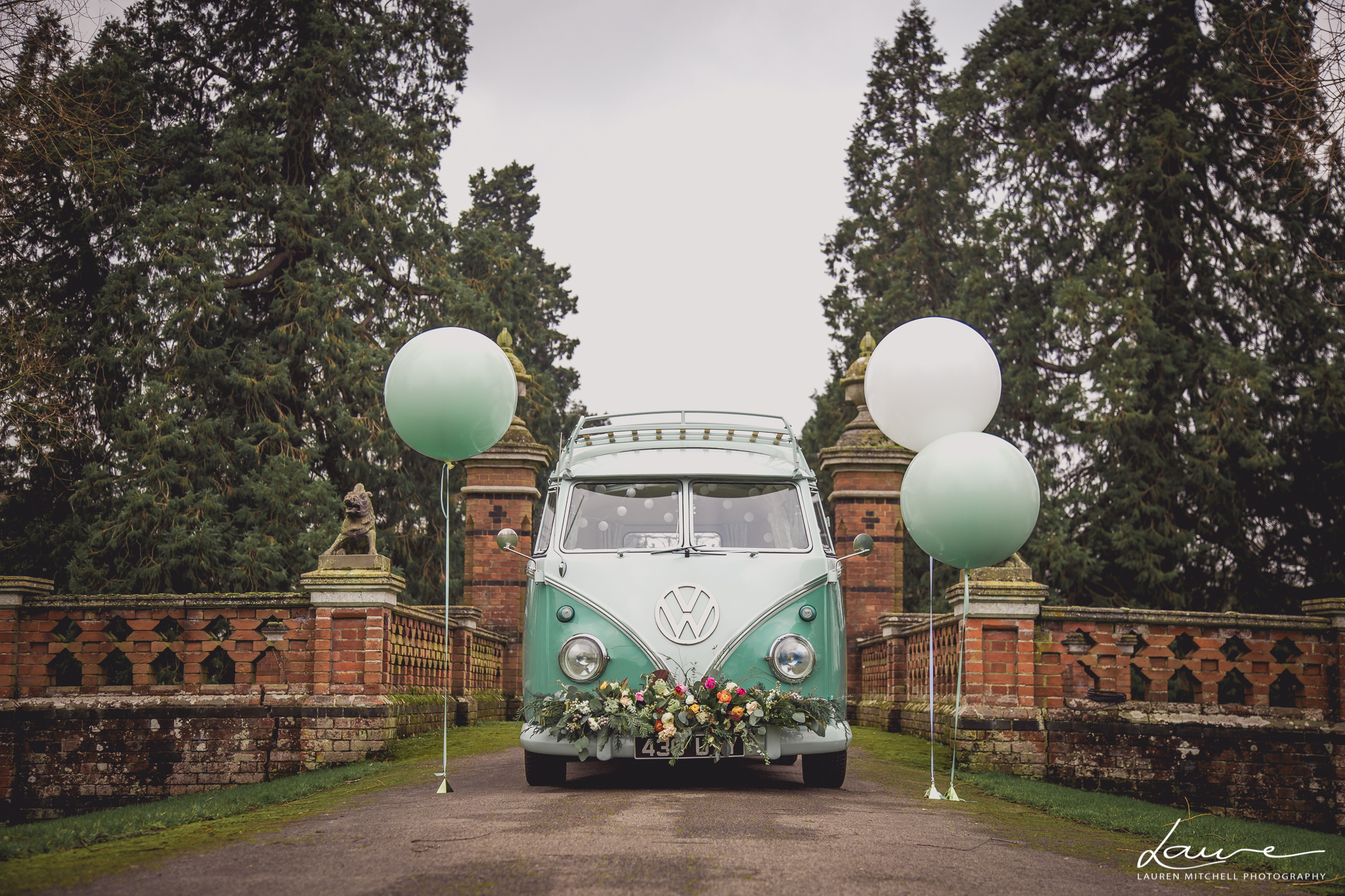 VW wedding Camper
