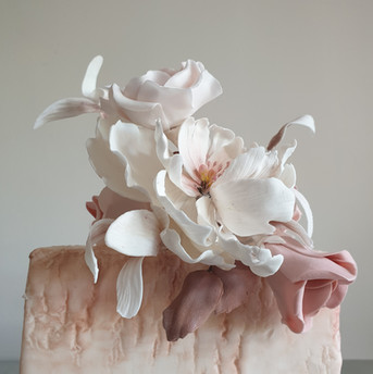 Sugarpaste Peony Flower Cake .jpg