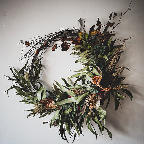 Prancer  Luxury Christmas Wreath