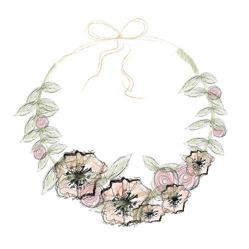 A La Carte Wedding Flower Crown