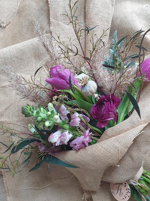 Eco Friendly Burlap Bouquet