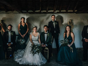 Shades of green wedding inspiration