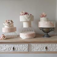 Wedding cake stacks - Farnham Castle