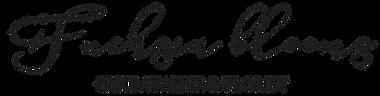 Fuchsia Blooms logo