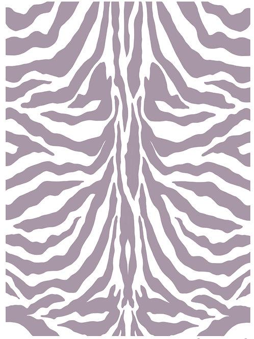 Zebra re useable stencil A4