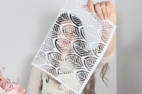 Leaf Trellis A4 Wafer Paper Cut Out Sheets x3