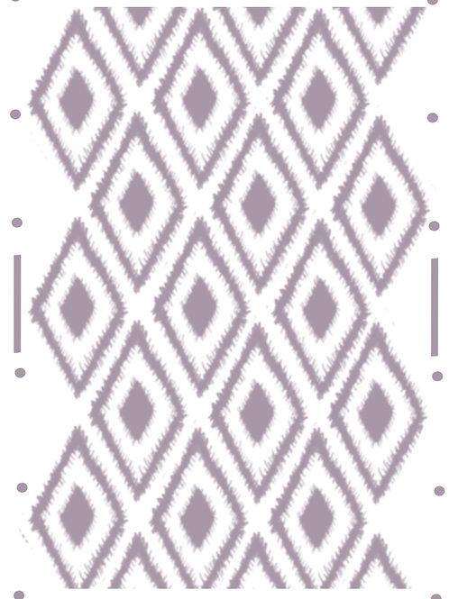Diamond Boho re useable stencil A4