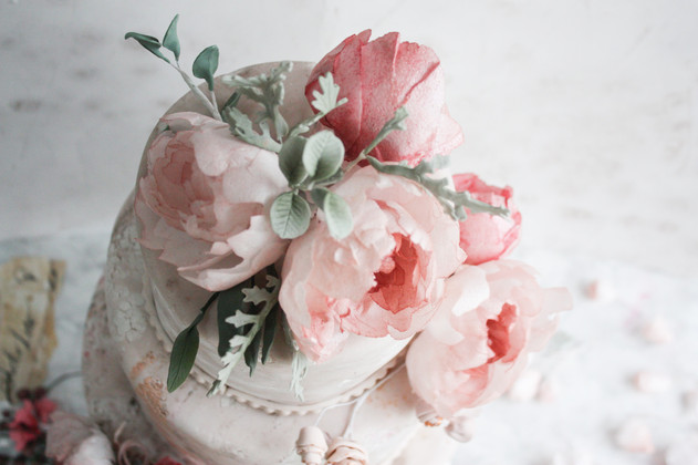 Weddig cakes