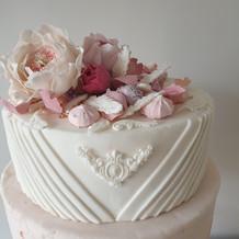 Eaton Mess Wedding Cake