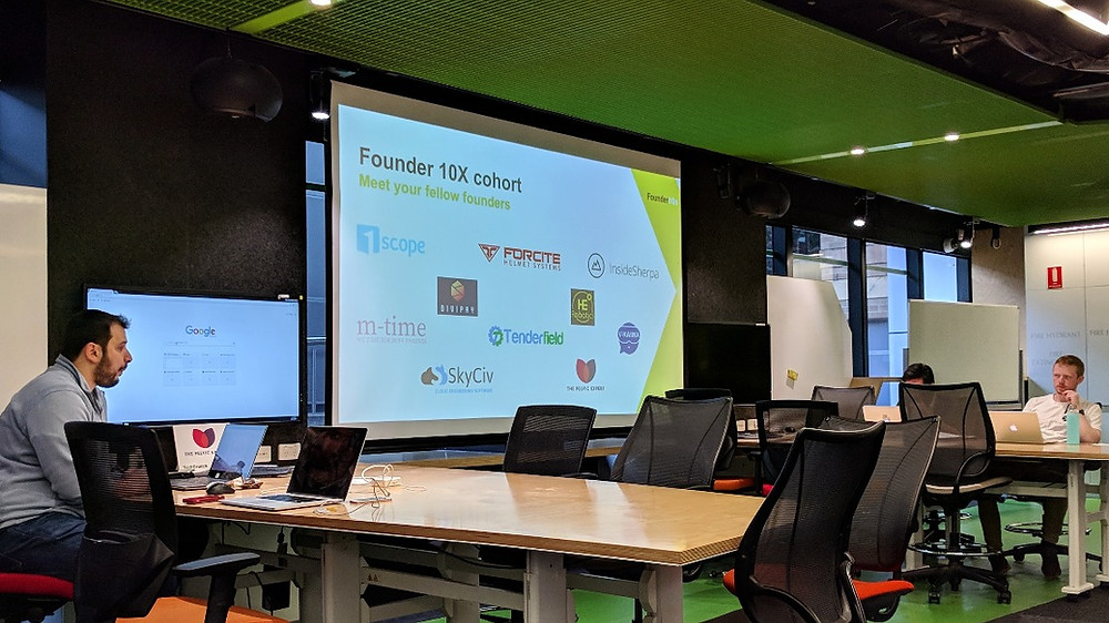UNSW's inaugural startup accelerator program, Founder 10X