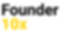 Founder 10x logo