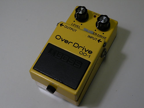 BOSS /⑨ OD-1 (OP:JRC/艶あり4558DD) ※バッテリースナップ交換
