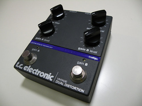 t.c.electronic/VintageDualDistortion