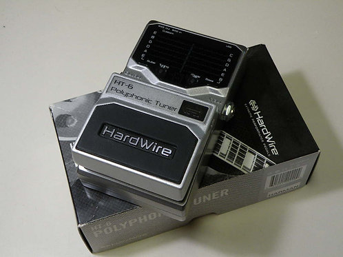 """HardWire(by Digitech) / HT-6 """"POLYPHONIC TUNER"""""""