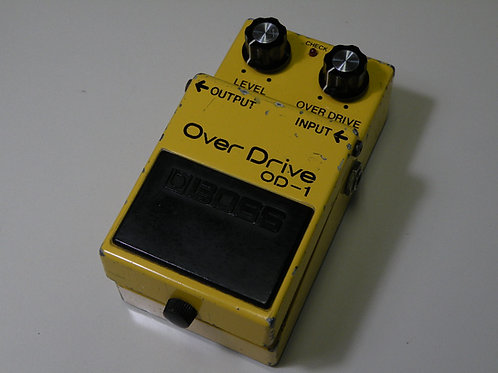 BOSS /⑪ OD-1 (OP:NEC/艶ありC4558C) ※全角ハイフン