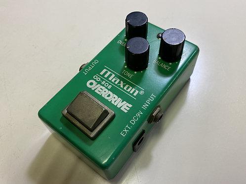 "MAXON / OD-808 ""NARROW CASE 1979年製"""