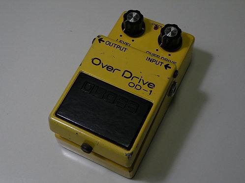 BOSS /④ OD-1 (OP:JRC/艶あり4558D)※銀ネジ 全角ハイフン