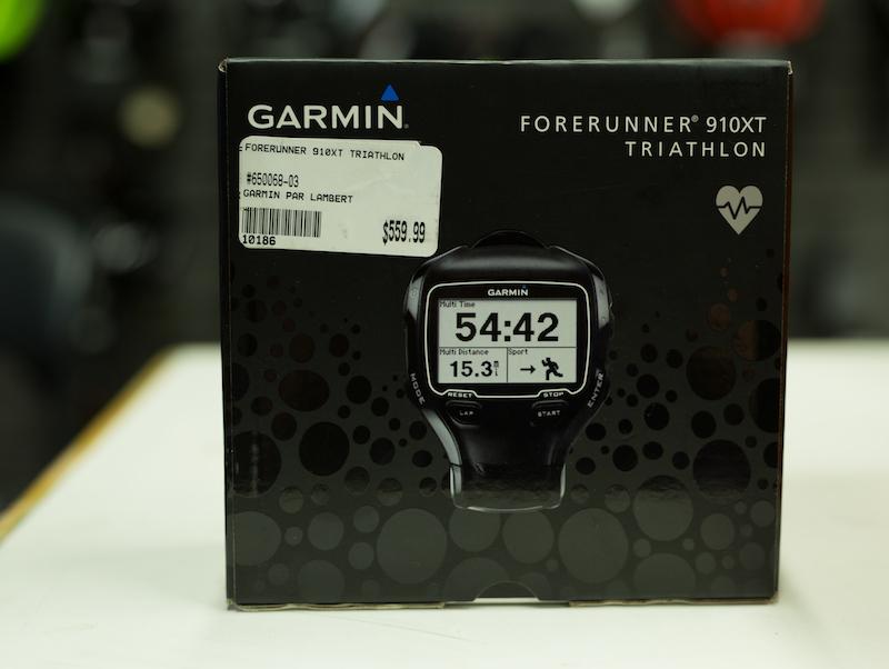 Garmin ForeRunner 910XT Triathlon