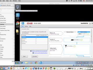 Comment faire fonctionner le SM-PCE1 Di2 de Shimano avec un Mac et VirtualBox