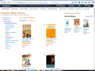 The Ladies at the Kitchen Table are #1 on Amazon!