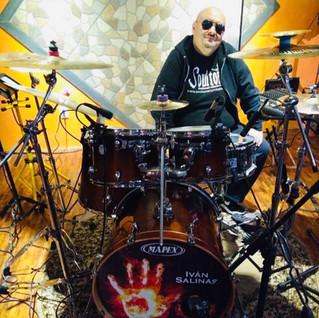 #brmagazineradioDrummers Iván Salinas, baterista,  Metal  y versatilidad Mexicana