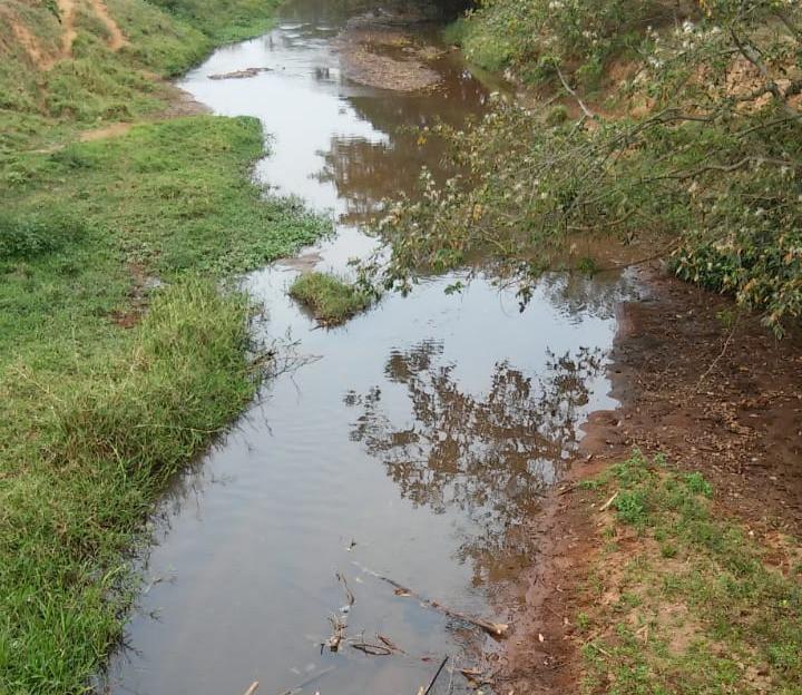A pior seca do Rio Gavião 15 outubro 2017.