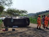 Trágico acidente na Patrocínio do Muriaé-Barão