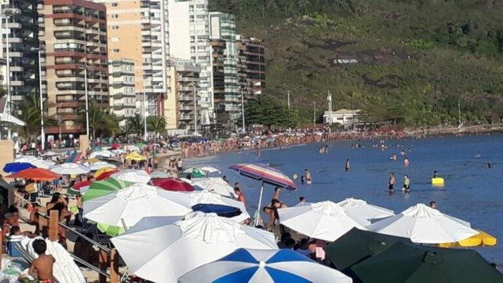 Guarapari ultrapassa 7 mil casos da Covid-19; 1.012 somente na Praia do Morro.
