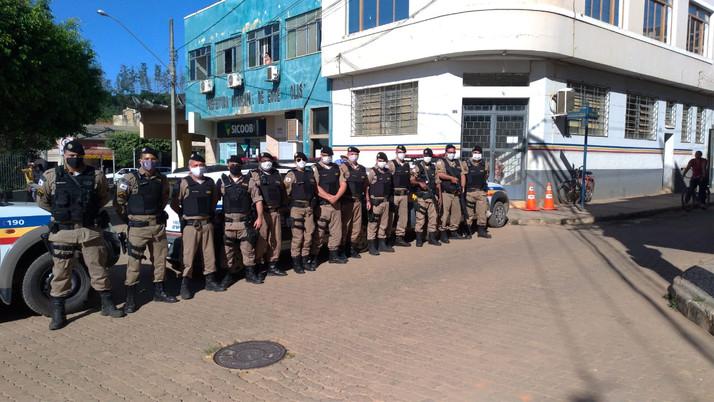 Policia Militar de Eugenópolis agora conta com o serviço de 190 em sua sede.