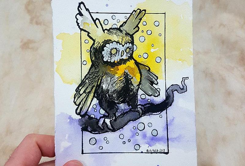 Snowy Owl Monster