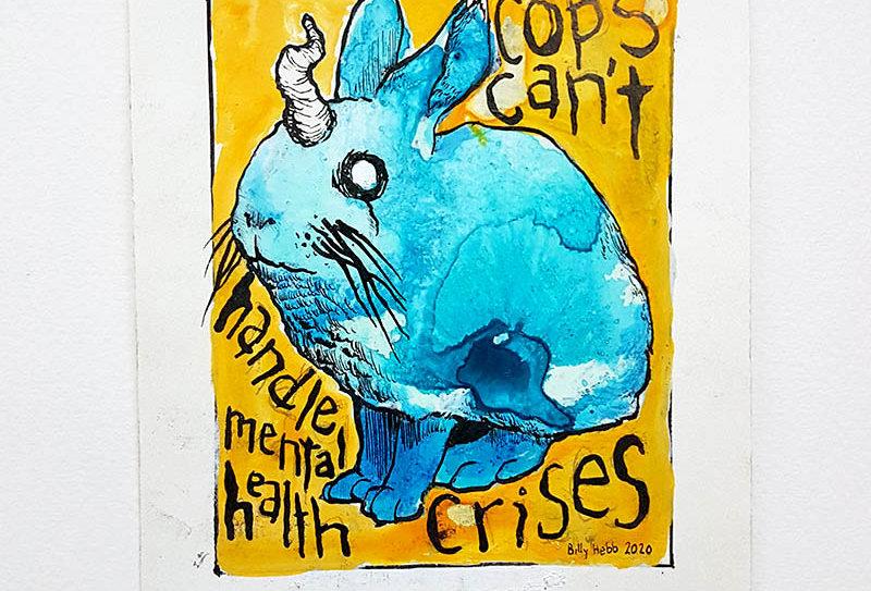 cops can't handle mental health crises