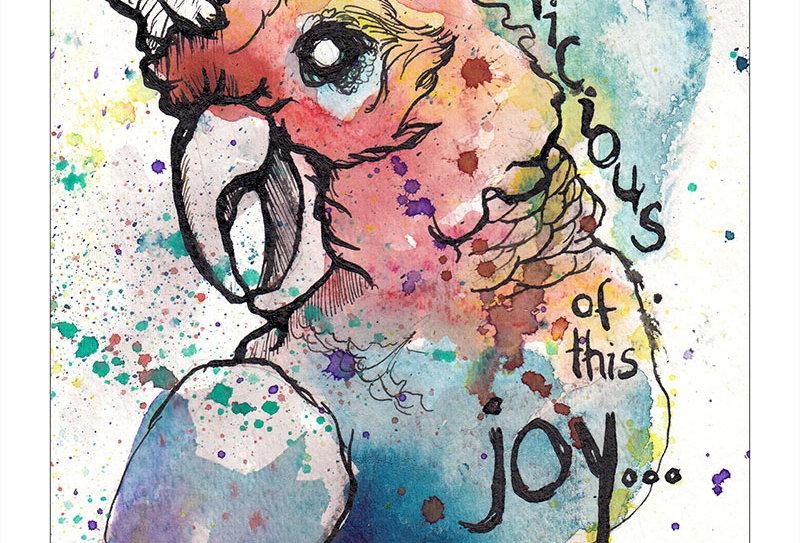 Suspicious of this joy