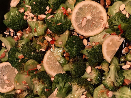 broccoli with chilli and garlic