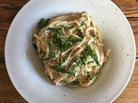 linguine with cashew-lemon sauce