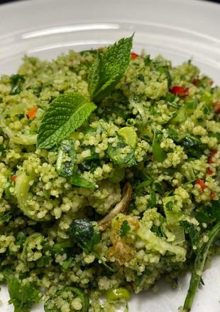 green couscous