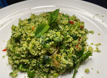 grüner couscous