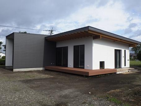 新築木造 平屋 H邸 仕上げ完了
