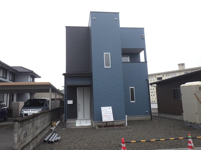 都城市 MIRAI工房 新築2階建て住宅 外観