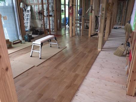 新築木造 平屋 木工事Ⅸ