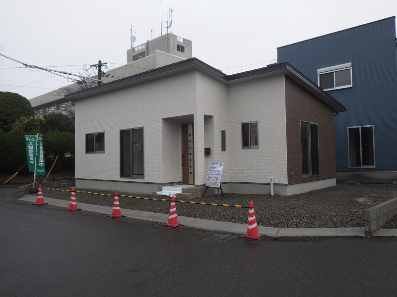 都城市 MIRAI工房 新築平屋建て 外観
