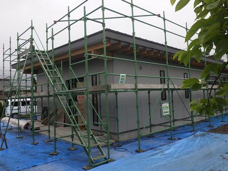 新築木造 平屋 木工事Ⅹ