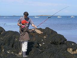 pêche du bord de mer