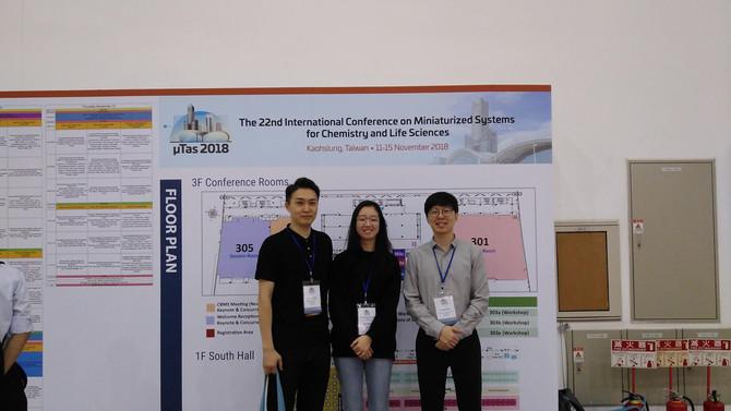 microTAS 2018 in Kaohsiung, Taiwan