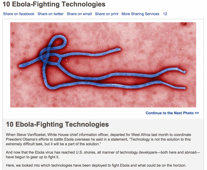 the 10 Ebola-fighting technologies
