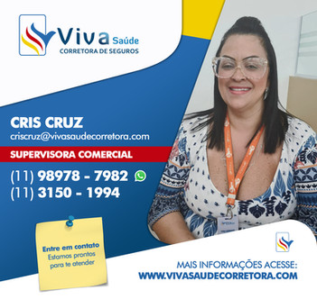Supervisora Comercial Cristiane